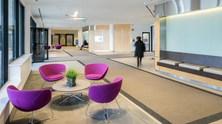 2233 Argentia Building Lobby