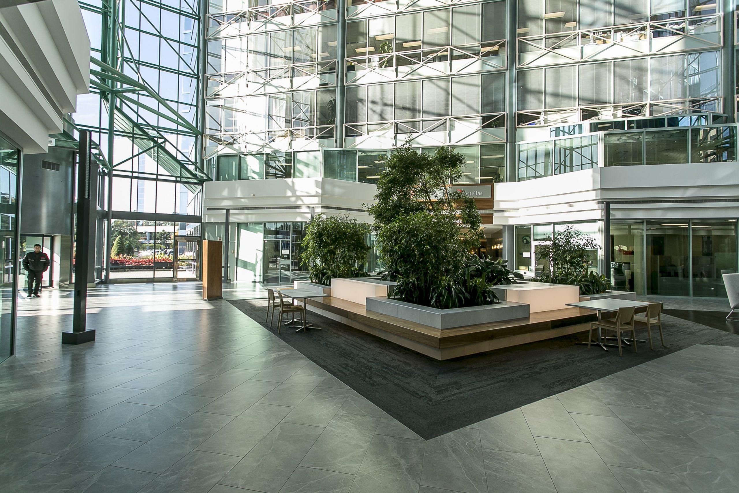675 Cochrane Lobby