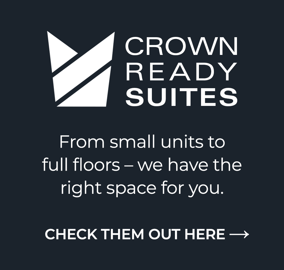 Crown model suites come in a variety sizes and layout options, check them out