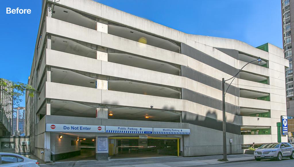 DEC Old Parking Structure